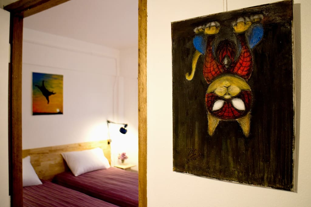 Spider-maew room