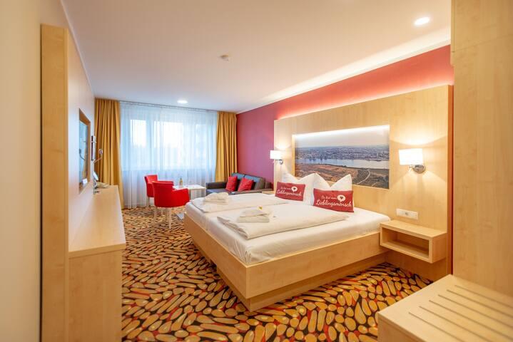 Doppelzimmer mit Balkon - Breakfast included