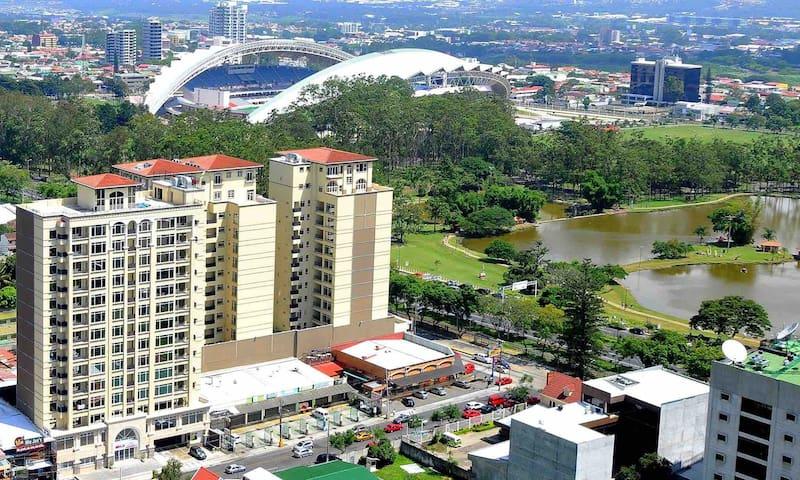 luxurious penthouse apartment