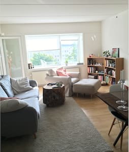 Spacious & well connected flat that welcomes you - Nørresundby - Leilighet