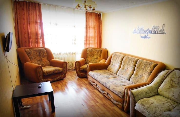 Теплая, Уютная и Чистая квартира в центре - gorod Biysk - Leilighet