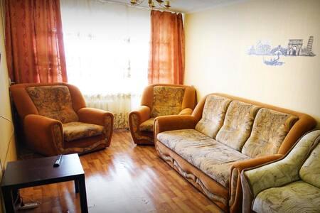 Теплая, Уютная и Чистая квартира в центре - gorod Biysk - Appartement