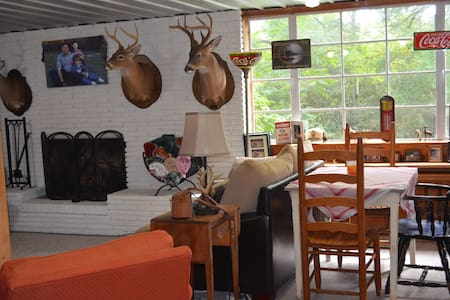 Bowman's Place-Cozy Cabin like Apt near UofA - Tuscaloosa - Huis