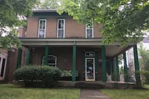 One of the last single family historic homes on the block, we have spent over 10 years restoring and updating the house!