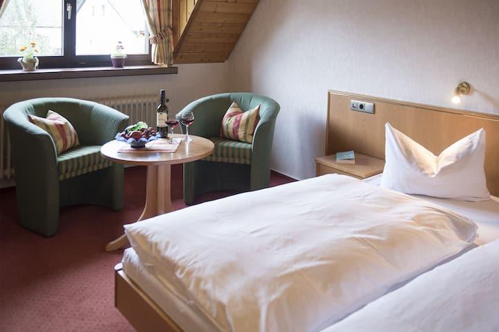 Hotel garni Schmieders Ochsen, (Seelbach), Doppelzimmer im Haupthaus oder Gästehaus