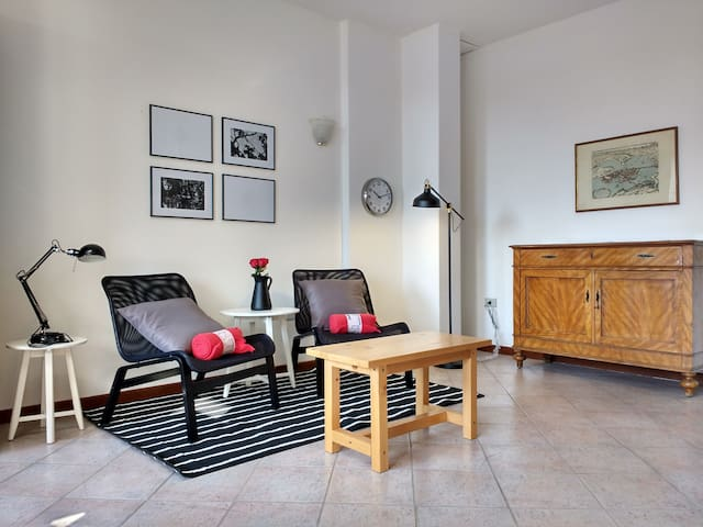 Bright apartment in Marostica