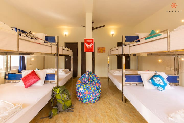 A Bed in 8 Bed Mixed Dorm in Vagamon