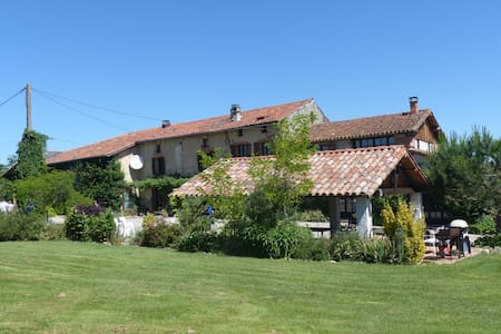 "Traditional French  Farmhouse ""La Ferme Plate"""