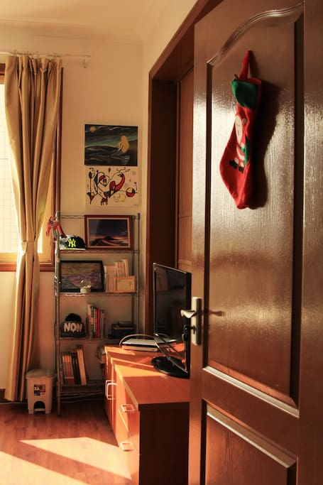 房间的入口。