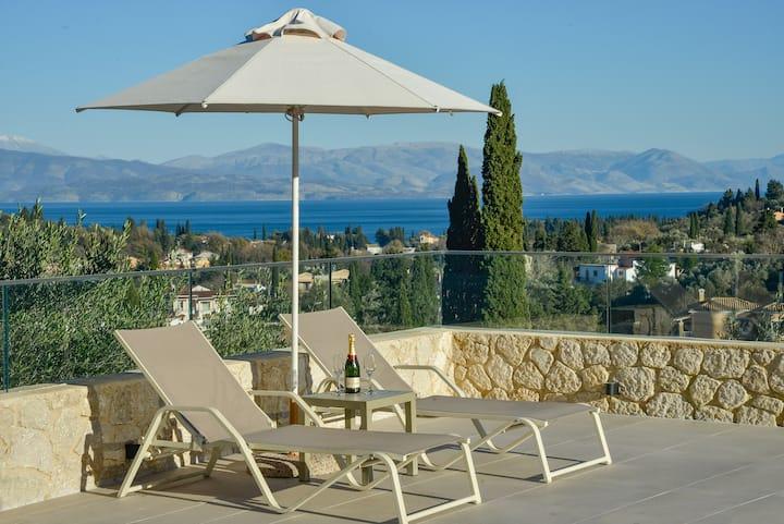 """""""The Corfu cocoon""""  Private villa Apt 2"""