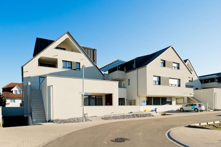 braviscasa - Fewo 46m² für 1-3 Pers. F3 Terrasse - Endingen am Kaiserstuhl - Huoneisto