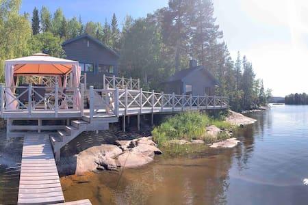 Lakehouse close the High Coast World Heritage
