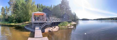 Lakehouse sulkea High Coast World Heritage