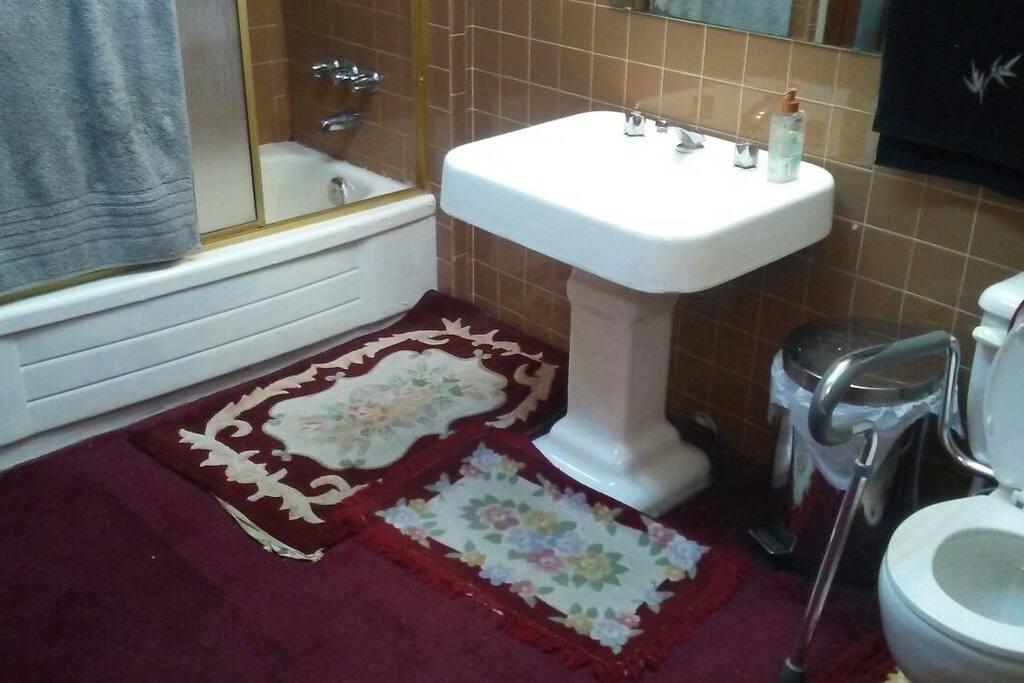 Bathtub & Sink