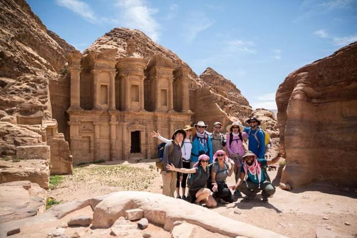 Petra Sand Mars camp