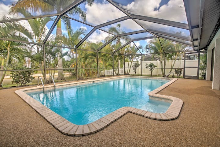 3BR Cape Coral House on Freshwater Canal! - Cape Coral - Dom