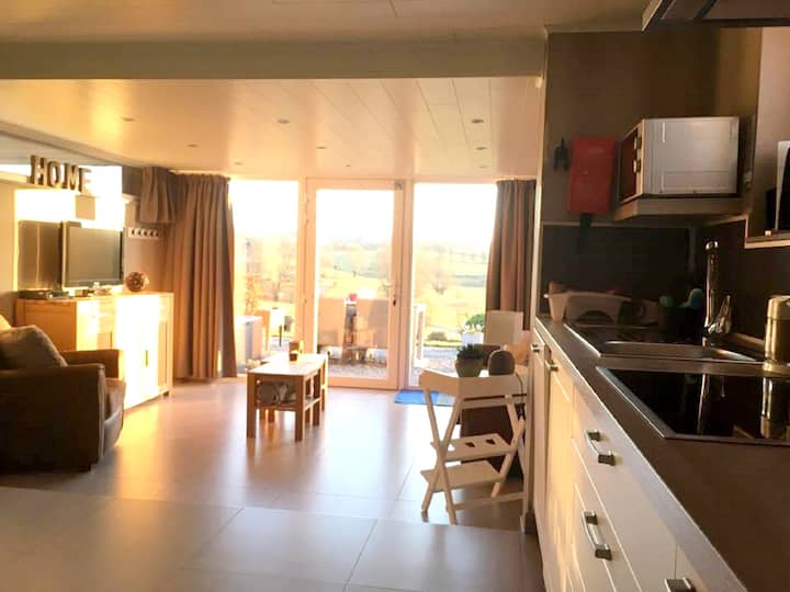 Apartment with one bedroom in Herve, with furnished garden and WiFi