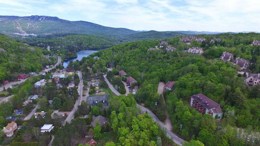 DEAL Cozy condo/balcony/view in the hills& slopes - Mont-Tremblant - Lägenhet