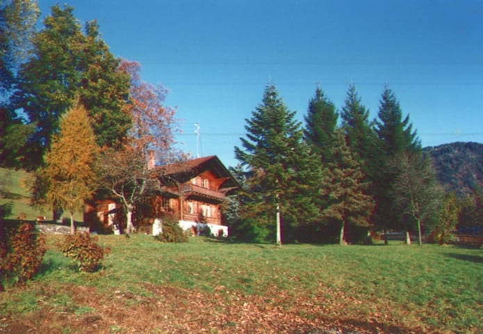 Grand chalet rustique - Gryon - House