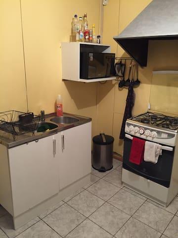 Cocina con todo para cocinar