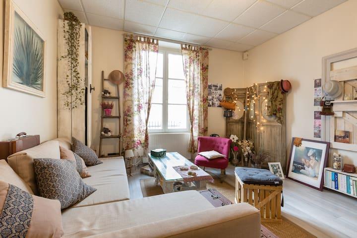 un petit chez-soi chaleureux - Dinan - Byt
