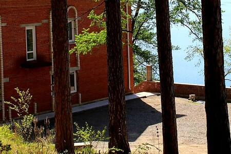 База отдыха на озере Тургояк