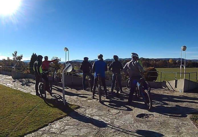 Rutas Brinco en plena naturaleza - La Garriga