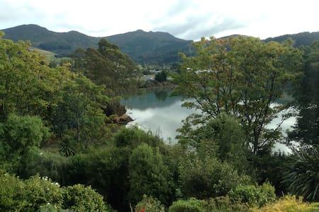 Studio - Sunny Roseneath, Otago Harbour Getaway - Roseneath - Bed & Breakfast