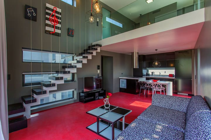 Athina ART Apartment I (RED) Gazi