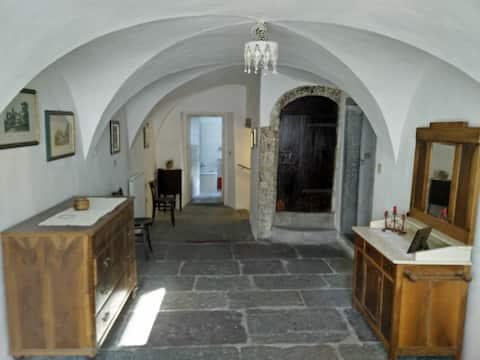 Casa di Nan, tipica del '700, Carnia, Alto Friuli.