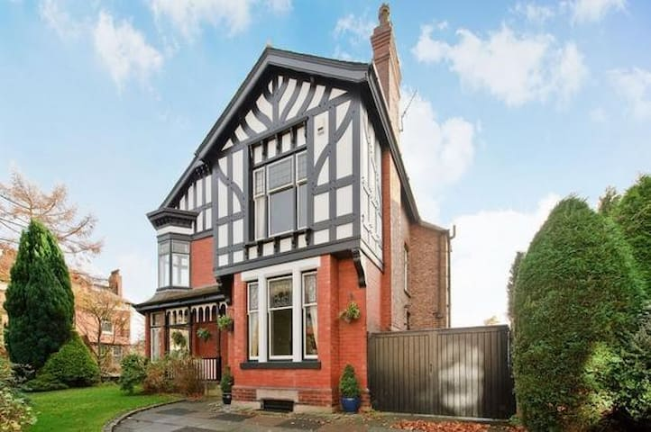 Beautiful large room in extraordinary period house - Manchester - Haus
