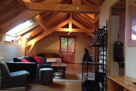 Loft confort proche parc d'activité Alpespace - Sainte-Hélène-du-Lac