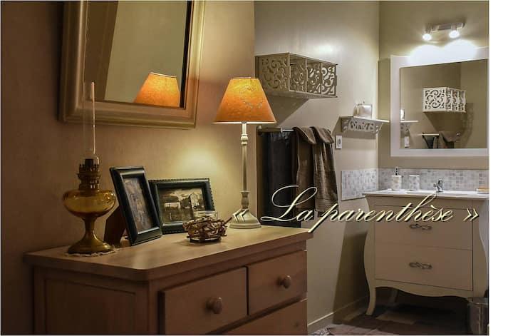 """La Parenthèse""  Bed & Breakfast Chambres d'hôtes"