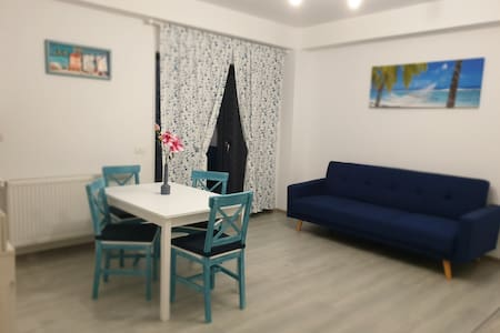 The blue apartament
