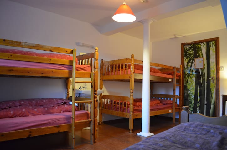 Large Family room in a Hostel