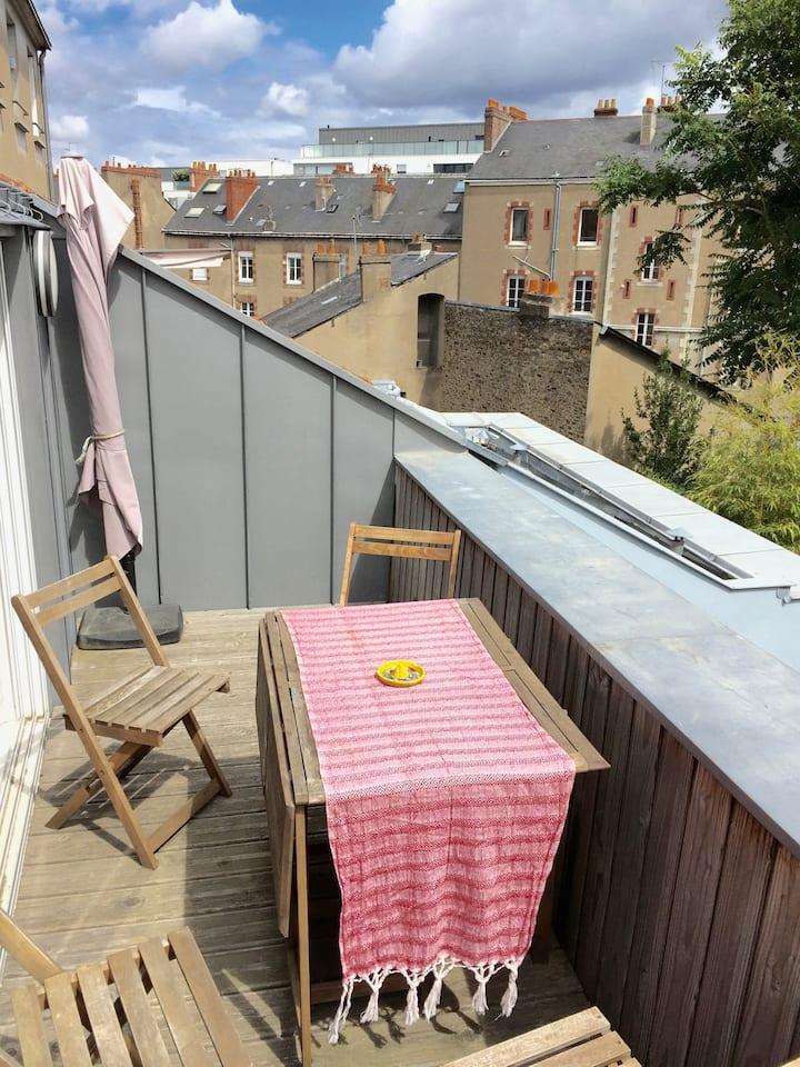 """L'appartement terrasse"""