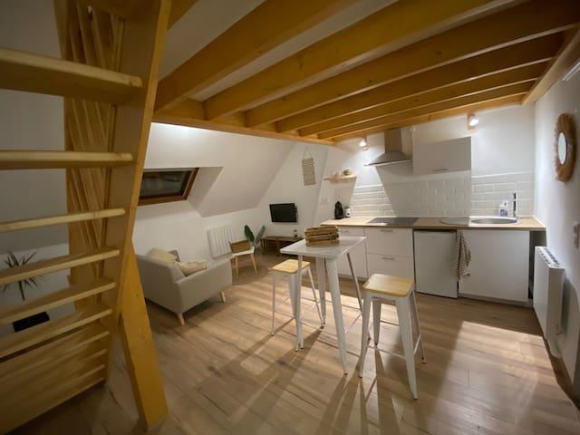 Nouvel appartement  cosy tout proche centre ville