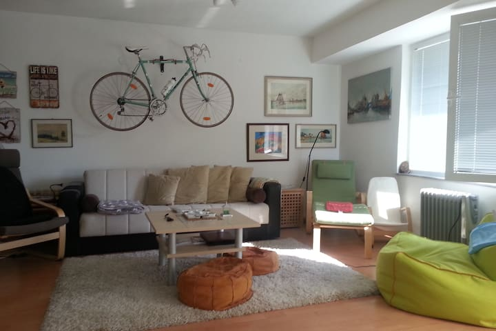 Apartment M&N with bicycles included
