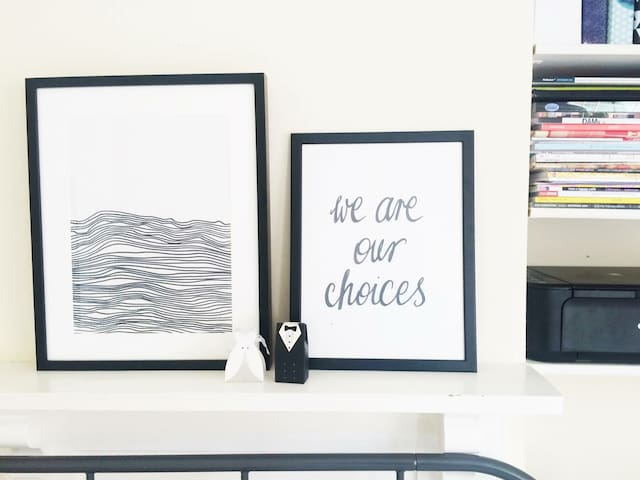 WE ARE OUR CHOICES. SO MAKE SURE YOU CHOOSE RIGHT