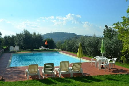 Holiday Home in Barberino val D'elsa fi with Pool, BBQ