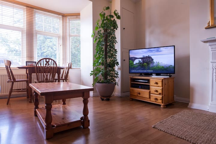 TV, DVD and a surround-sound audio system are available to guests