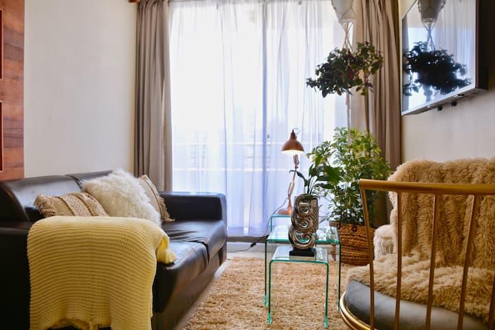 Exquisite Apartment Central Santiago (King Bed)