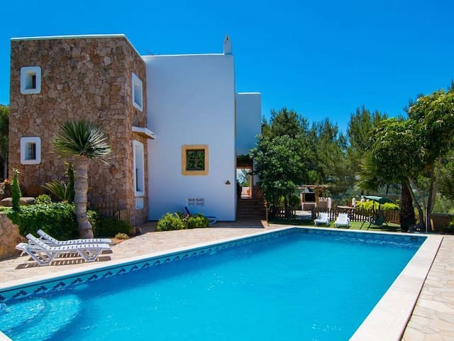 Private house in ibiza - Sant Miquel de Balansat - Huis