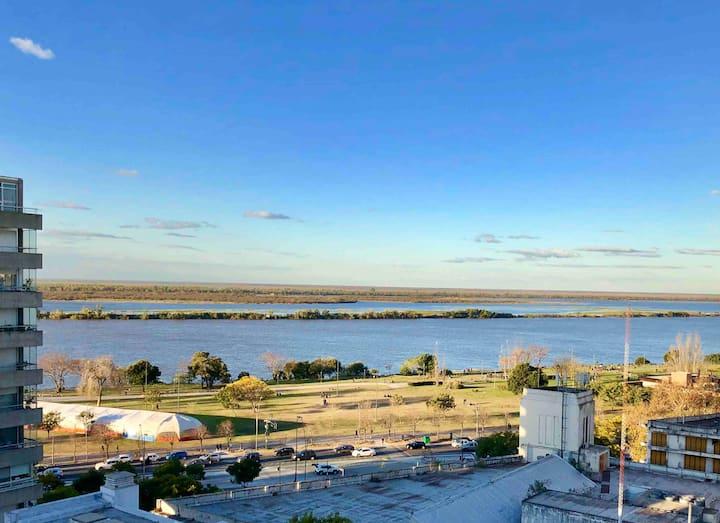 Depto con Excelente ubicación vista al Río