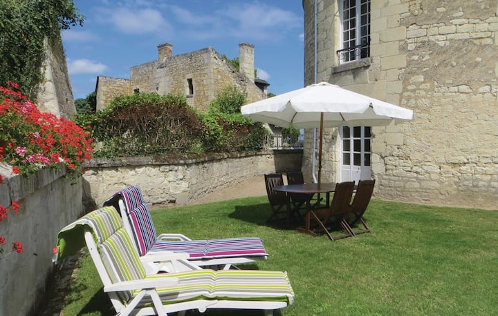 Awesome home in Chinon with WiFi and 2 Bedrooms