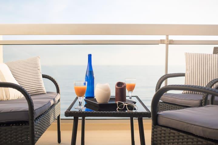 """Vue sur mer La Baule """"Santa-Barbara"""" - La Baule-Escoublac - Apartamento"""