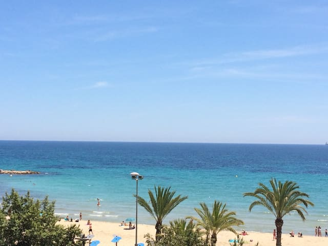 Apartment near the beach with wi-fi and parking - Alicante - Lejlighed