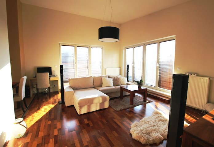Sunny flat with terraces - Prague - Apartmen