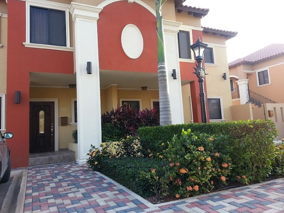 Front of the Condo. One floor