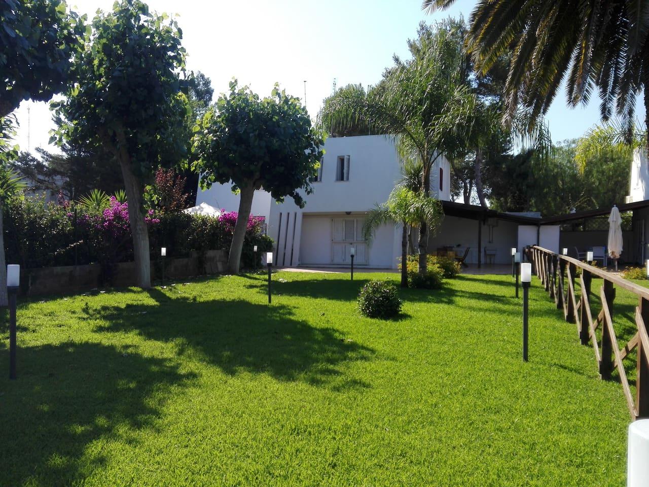 Casa vacanze Lido Fontanelle giardino privato